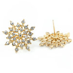 Earring Star Gold - Budget Line