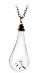 Necklace Glass Drop - Budget Line