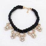 Big Black Diamond Necklace
