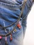 Denims Layer Shackle Pink Red