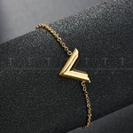 LV Bracelet Gold
