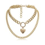 Chain Heart Gold