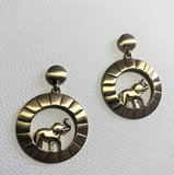Wild Elephants Gold