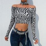 Zebra Top L
