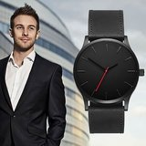 Matte Black Business Watch