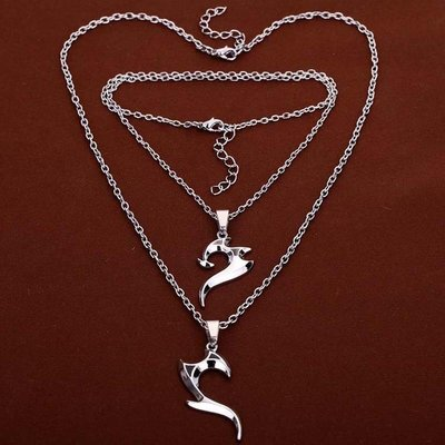 Necklace Friendship Duo Silver