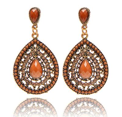 Brown Gipsy Earrings