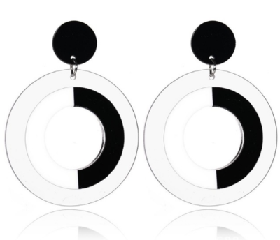 Circle Earrings - Big Size