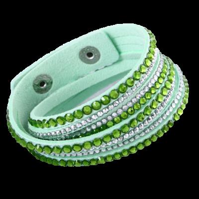 Sparkling Green Bracelet