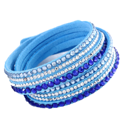 Sparkling Light Blue Bracelet