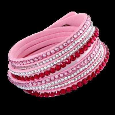 Sparkling Pink Bracelet