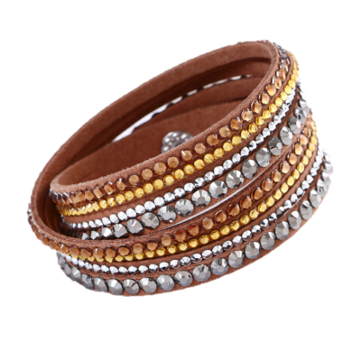 Sparkling Brown Bracelet
