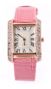 Glam Watch Pink