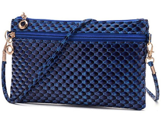 Elegance Cosmetics Bag Blue