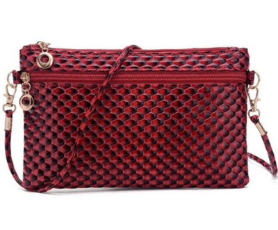 Elegance Cosmetics Bag Red