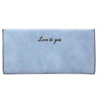 Lovely Wallet Light Blue