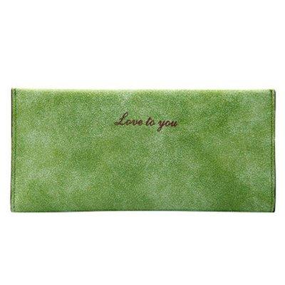 Lovely Wallet Green