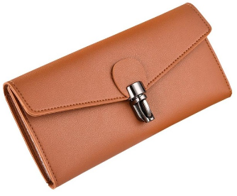 Fancy Cognac Wallet