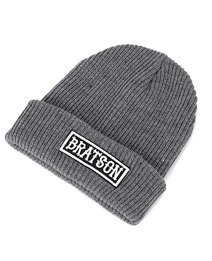 Tough Bratson Grey Wool Hat