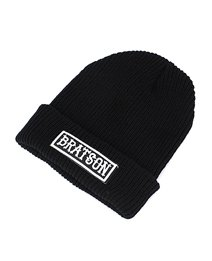 Tough Bratson Black Wool Hat