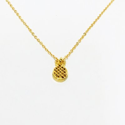 Necklace Small Pineapple Gold