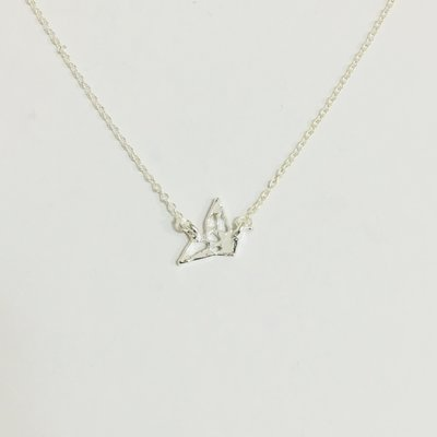 Necklace Flying Bird Silver