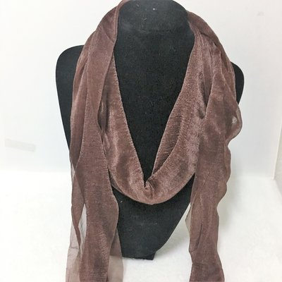 Evening Shawl Shinning Brown