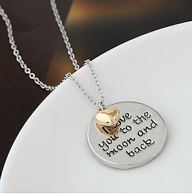 Necklace Silver Meets Gold Valentine