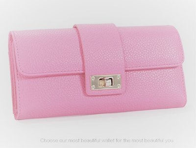 Lady Wallet Pink Multifunctional