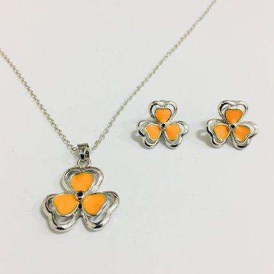 Lucky Silver Set Orange