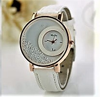 Watch Quicksand Bead White