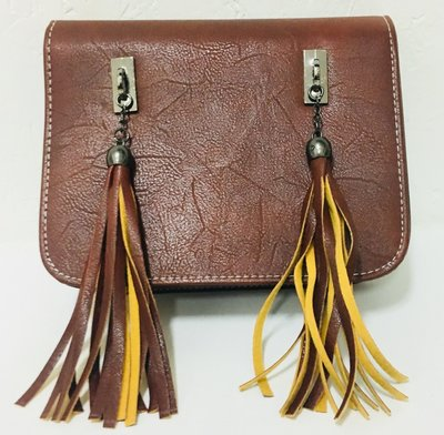 A Nice Brown Tassel Crossbody