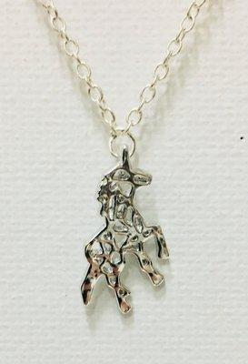 Necklace Unicorn Silver