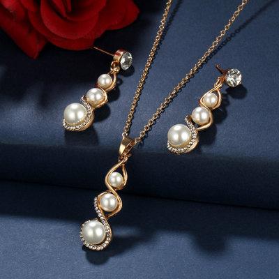 Wedding Pearls Ivory Set