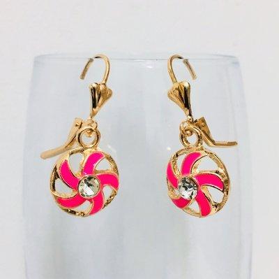 A Stylish Diamond Set Pink