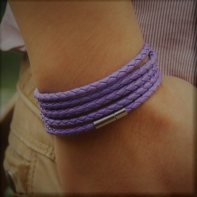 Sports Wrap Purple