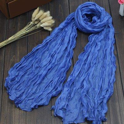Crinkle Blue