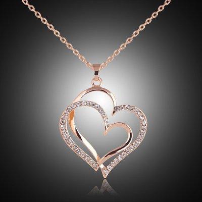 Hearts Rosé Gold