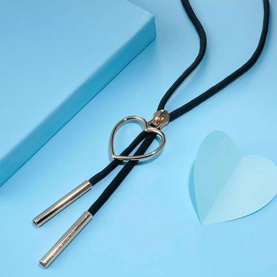 Heart Zipper Gold