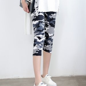 Camouflage Legging Short