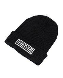Tough Bratson Black Wool Hat