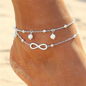 Ankle Bracelet Charm Infinity