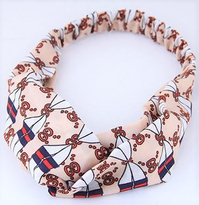 Hair Band Decorate Beige
