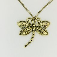 Necklace Dragonfly Brons