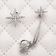 Earrings Luxury Stars