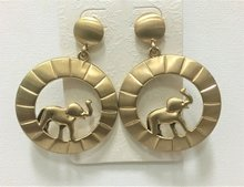 Wild Elephants Gold